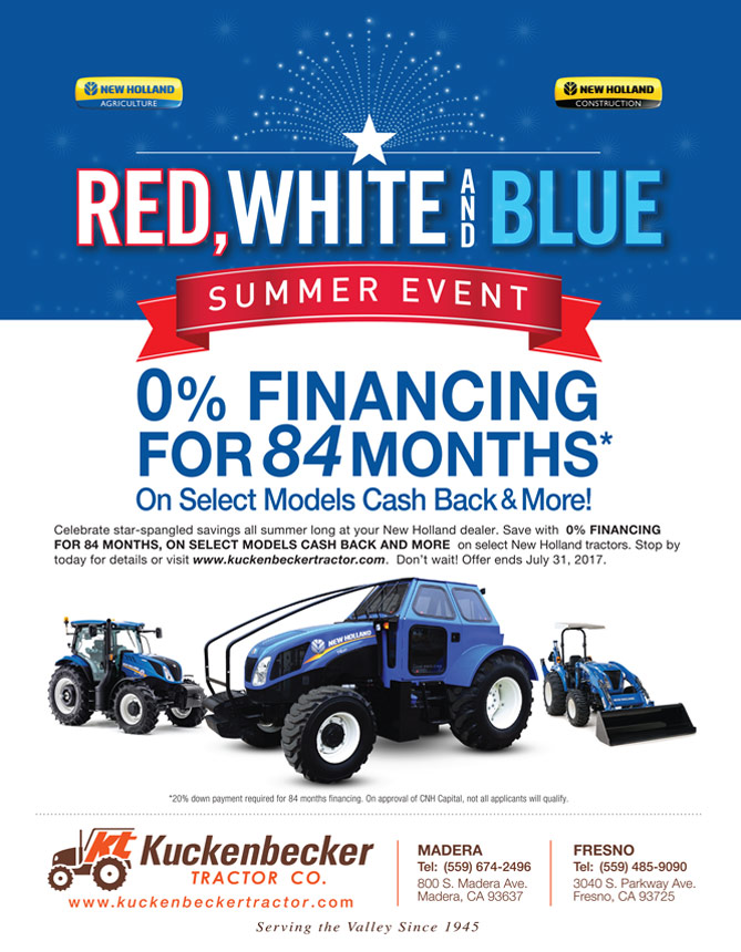 Red White And Blue Auto Sales >> Kuckenbecker Tractor Co Red White Blue Sales Event