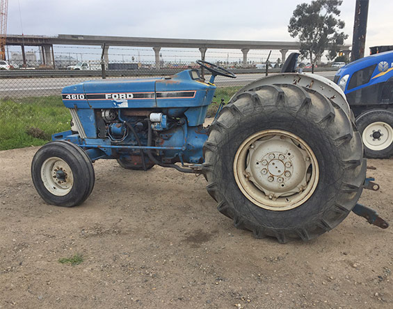 1986 Ford 4610 Tractor