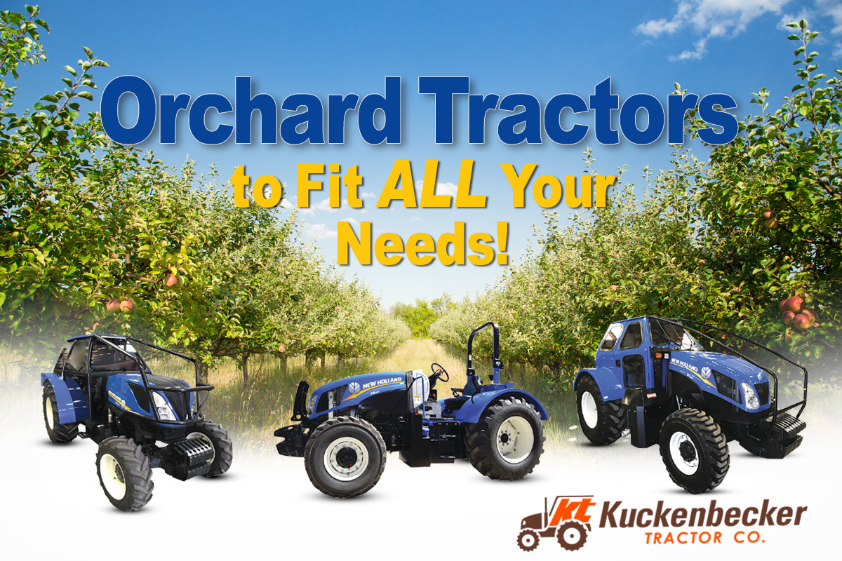 Orchard Tractors to fit ALL Your needs