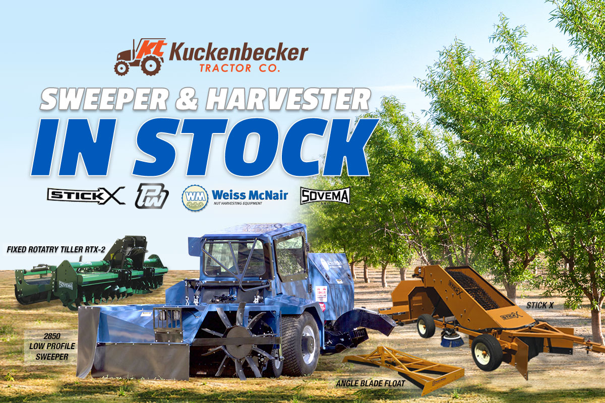 Sweepers & Harvesters in Stock