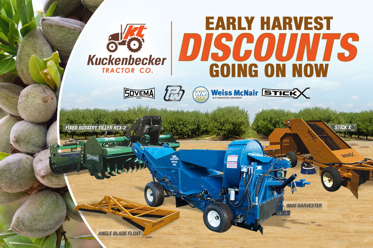 Early Harvest Discounts!