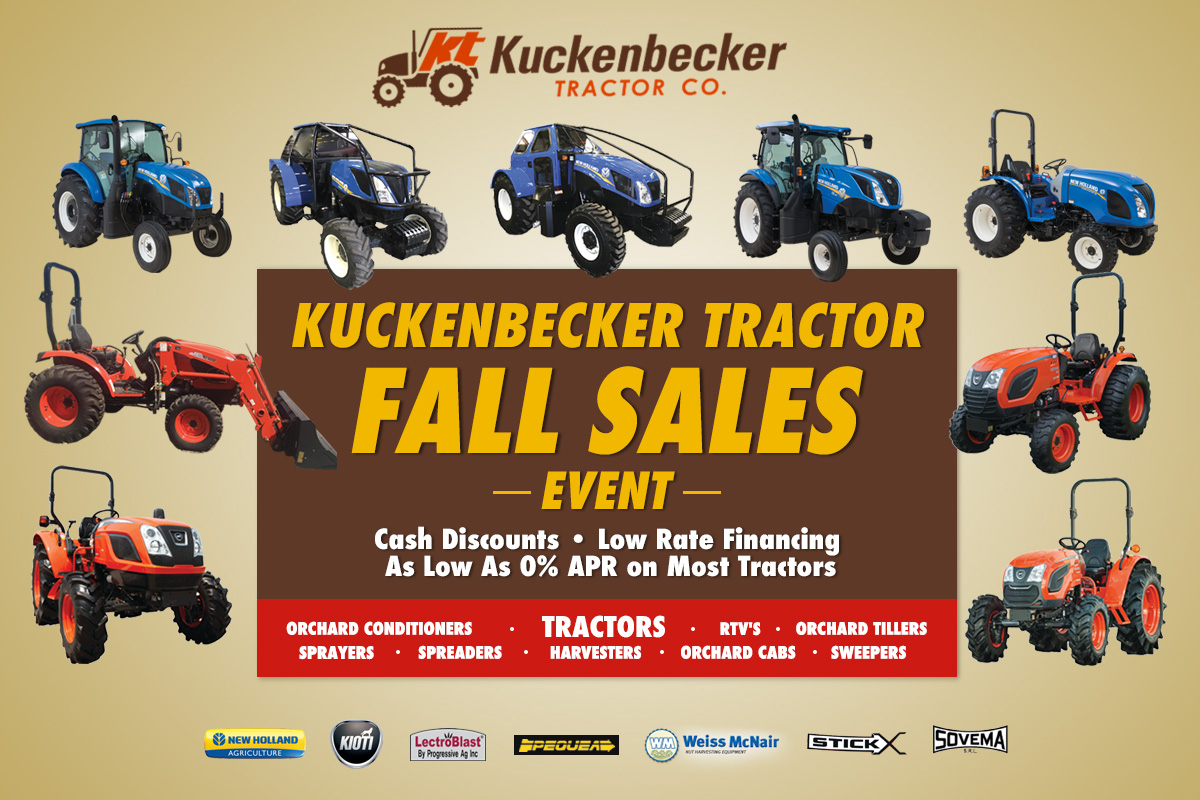 Fall Sales Event!