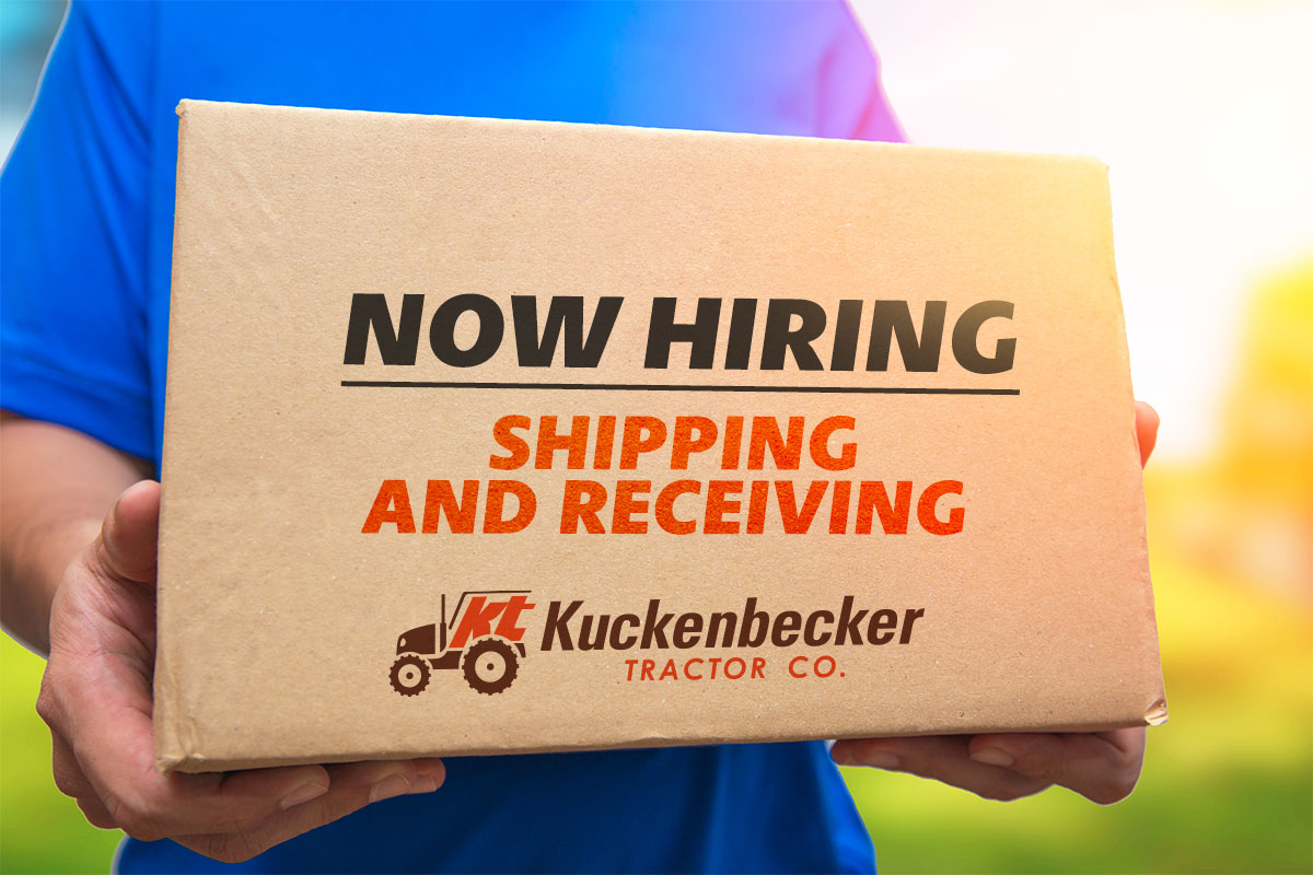 Shipping and Receiving Position Open!